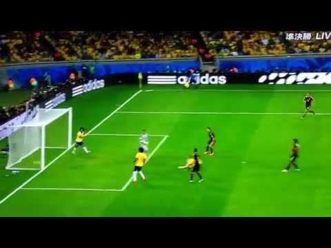 08.07.2014   Sami Khedira  World Cup Germany vs Brazil 5-0  super goal