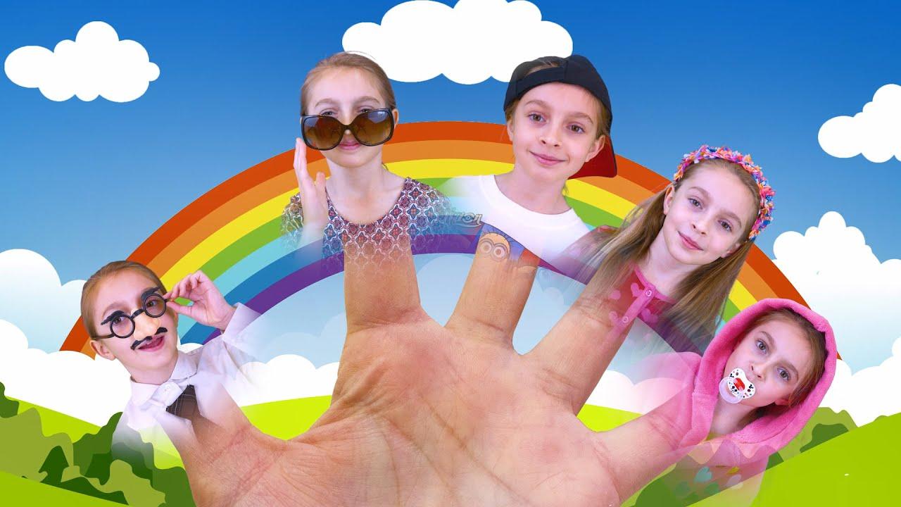 Finger Family and other songs for children | बच्चों के गाने हिंदी में | Sunny Kids Songs
