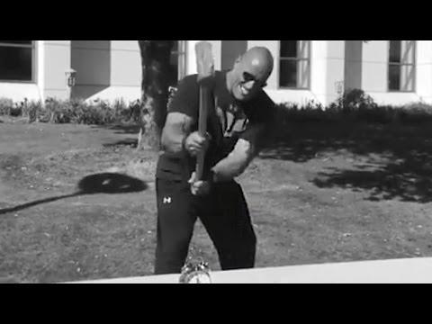 Dwayne The Rock Johnson Releases Own Motivational Alarm Clock App