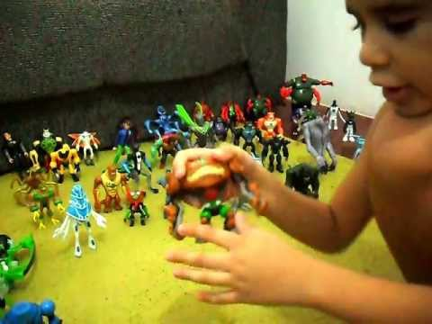 Ben 10, coleção do Hugo Travel Video