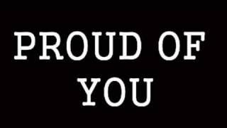 Proud of you (Robert Ramírez)