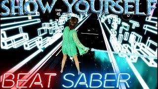 Download lagu Beat Saber || Show Yourself (Frozen 2) - Idina Menzel & Evan Rachel Wood (Expert) || Mixed Reality
