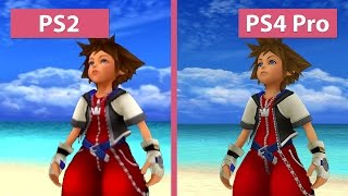 Kingdom Hearts – PS2 vs. PS3 vs. PS4 vs. PS4 Pro 4K UHD Graphics Comparison