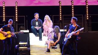 Sabrina Carpenter Sings w/ TV costar Ben Savage at Wiltern