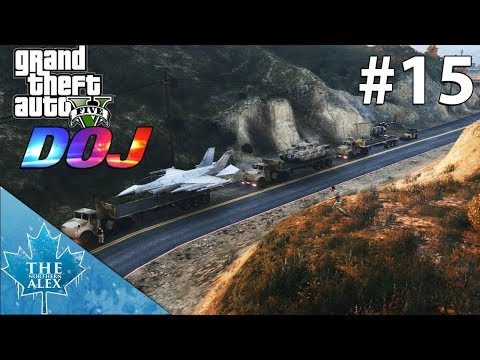 GTA V Department of Justice #15 - Military Convoy -