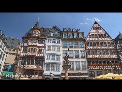 Frankfurt, Germany: Market Hall and Medieval Square
