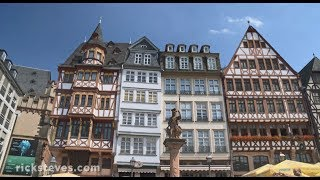 Frankfurt, Germany: Market Hall and Medieval Square