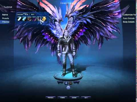Aion Character Creation - First Look HD - YouTube