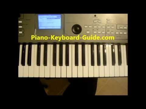 Piano Chords In The Key Of D Major