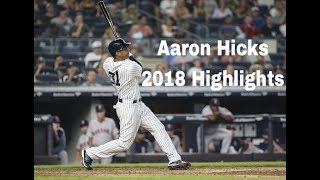 Aaron Hicks 2018 Highlights