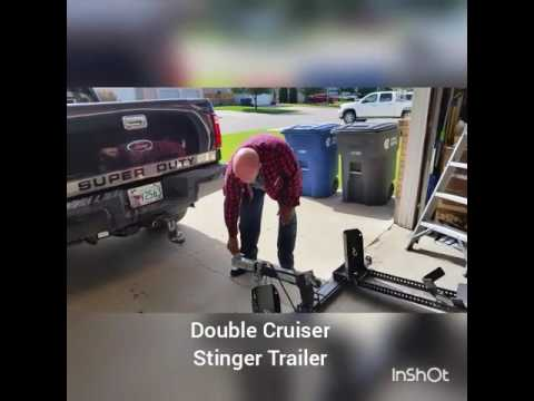 Double Cruiser Stinger Bike Trailer