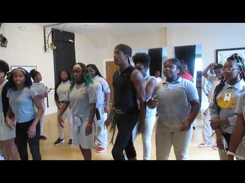 NORDC/FITNOLA THRILLER DANCE CLASS W/ KENNETH KYNT BRYAN @ ARISE ACADEMY
