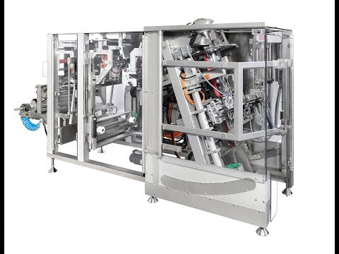 Bosch SVE 2520 WA VFFS Packaging Machine For Fragile Products