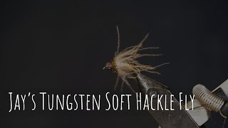 Jay's Tungsten Soft Hackle Fly