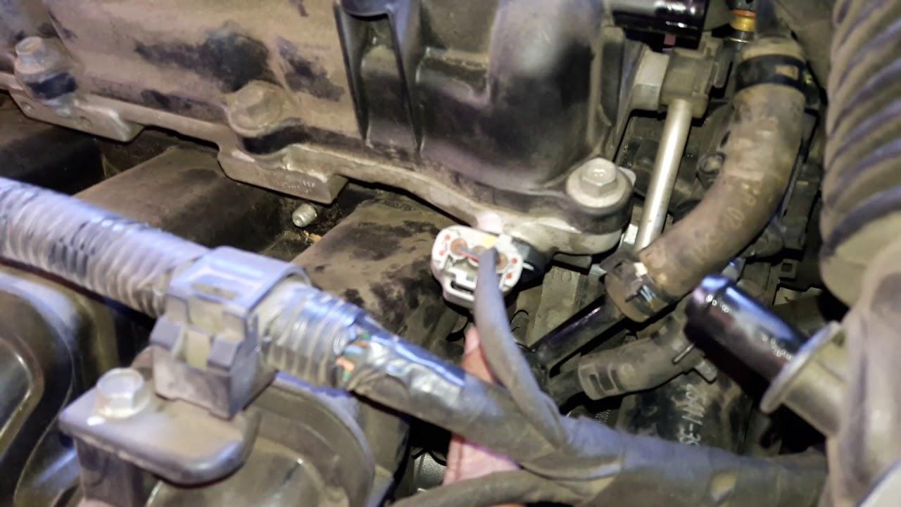 Hyundai Sonata 2012 P0340 camshaft sensor  YouTube
