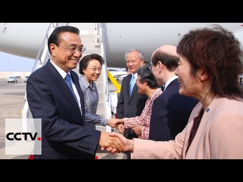 Chinese Premier Li Keqiang arrives in New York for event