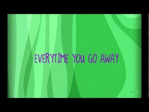 everytime you go away - brian mcknight