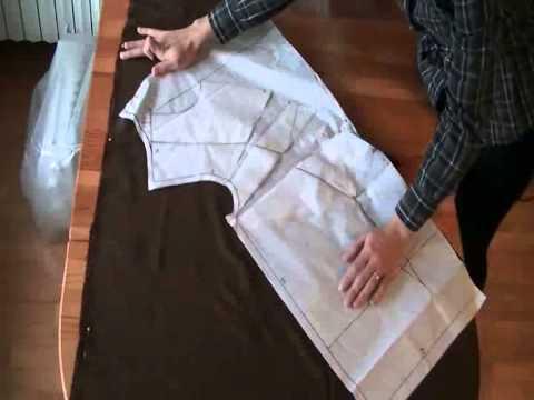 Amato Come fare una camicia con collo drappeggiato - YouTube FQ19