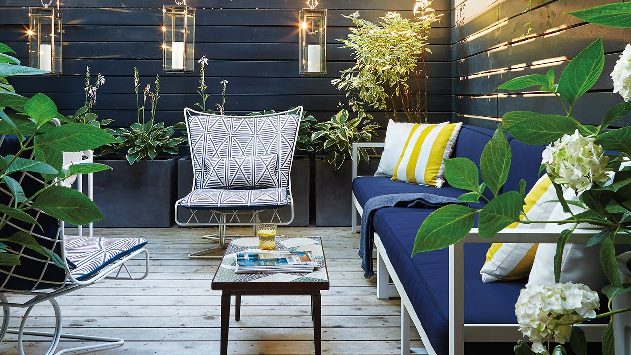 Exterior Design A Small Space 225 Square Foot Backyard