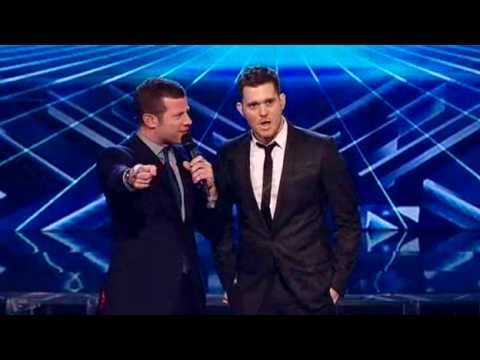 Michael Buble -  Hollywood Live On The X Factor 2010