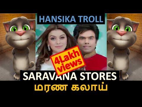 Saravana Stores Troll Video | Hansika Motwani | CandyKrishJr