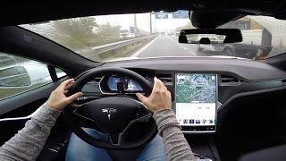 Tesla Autopilot (Model S) - POV Test Drive