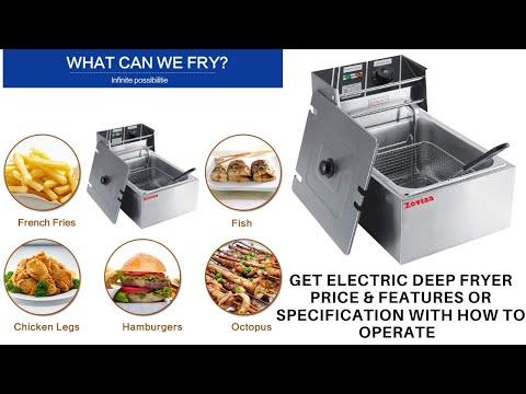 Commercial Deep Fryer Price In India | Delhi Electric Fryer Price AS-81