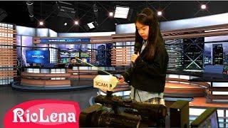 キッザニア:テレビ局 ♥ Kidzania: TV station