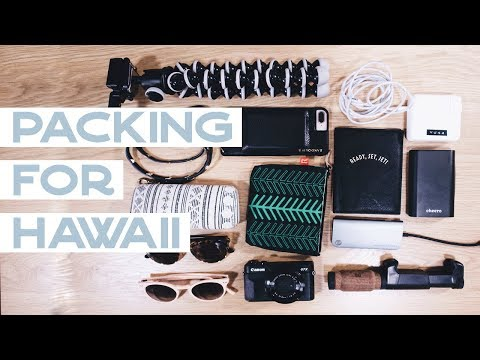 Packing for Hawaii 🌴Camera gear I