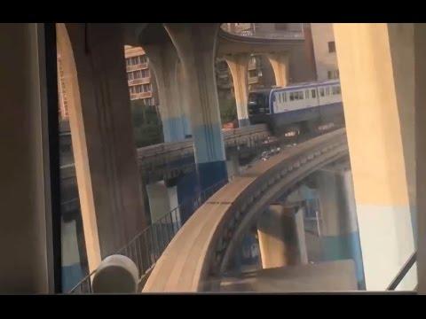 【Chongqing Rail Transit】Chongqing Monorail Line 3 North bound .Time Lapse POV