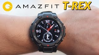 Amazfit T-Rex Unboxing and First Impressions | Global Version | Military Grade Durable Smartwatch!