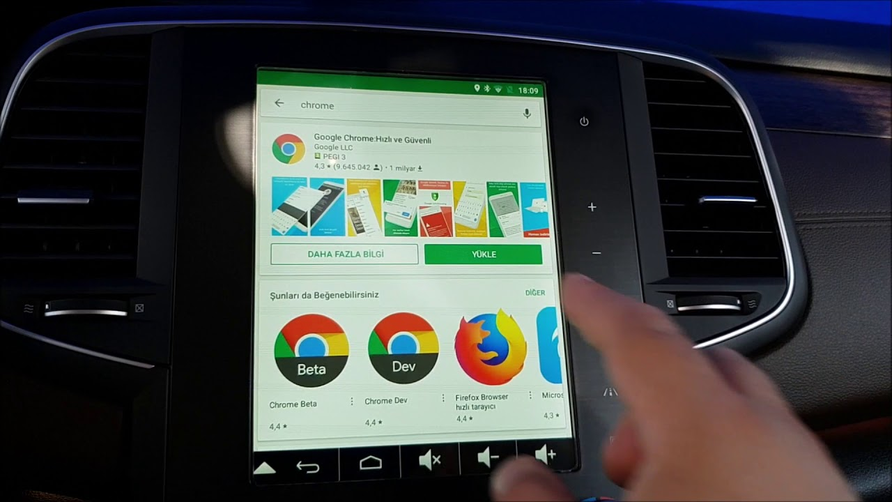 Downloading apps from google playstore on Renault R-Link 2, 8 7-7 inch  screen