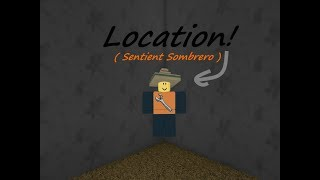 How to get the Sentient Sombrero in Roblox ATF Mirage