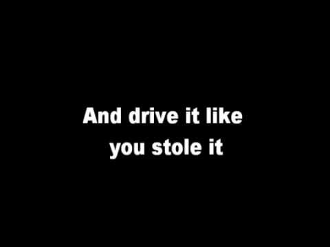 Drive it like you stole it Sing Street Lyrics