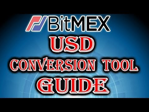 BitMEX USD Script Guide - Convert Web Values To USD!