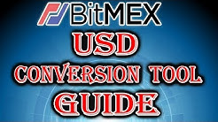 BitMEX USD Script Guide - Convert Web Values to USD!