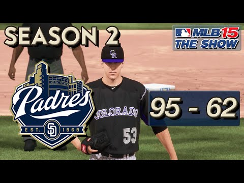 MLB 15 The Show Franchise Mode: San Diego Padres Ep. 35 | Playoff Preview?