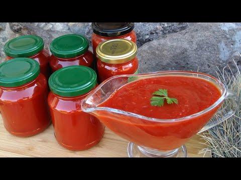 Как приготовить кетчуп в домашних условиях на зиму с крахмалом