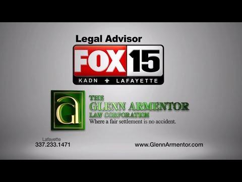 KADN Legal Advisor Glenn Armentor - Special Laws Apply for Offshore Injuries