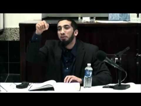 Nouman Ali Khan ┇ Dua is not amazon.com !!!