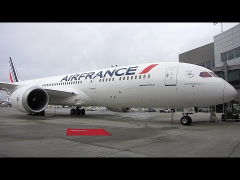 [Flight Report] AIR FRANCE | Paine Field Everett ✈ Paris | Boeing 787-9 | Business