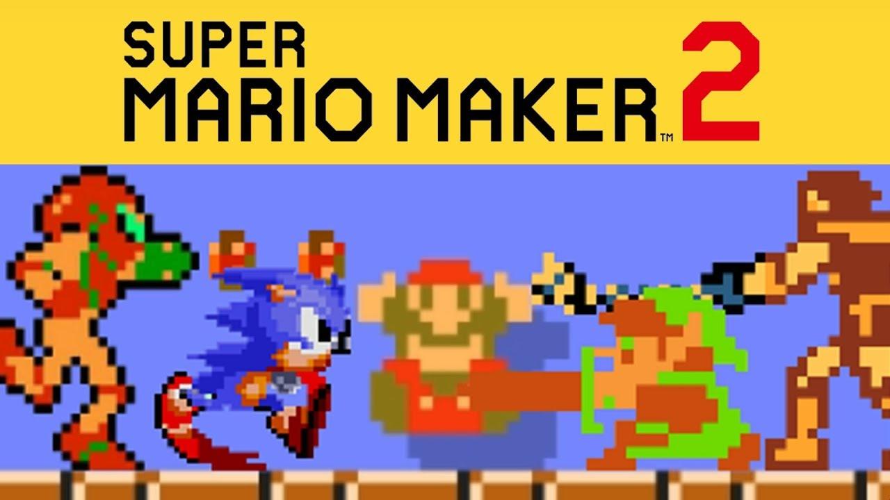 Super Mario Maker 2 - Top 5 Crossover Levels