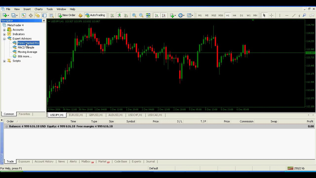 Download robot hack forex