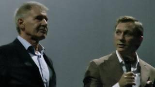 Harrison Ford making fun of Daniel Craig - James Bond vs. Indiana Jones