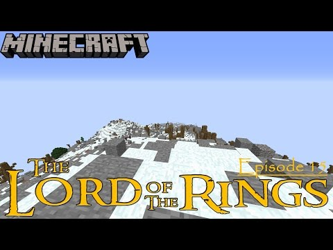 Minecraft The Lord of the Rings #15 - The Lonely Mountain!