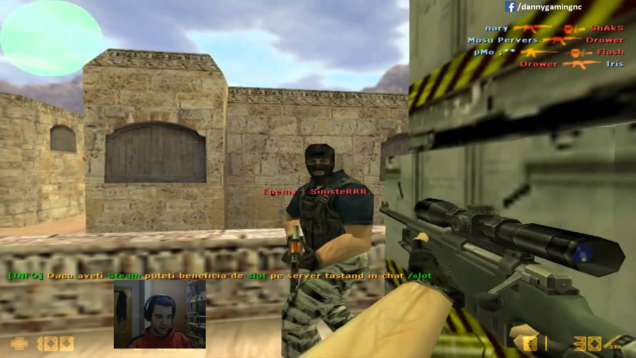 Counter Strike 16 Deathmatch Gameplay Ownage With AWP On Dedust2 YouTube