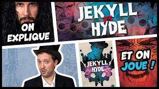 Jekyll vs Hyde, on vous explique et on joue au jeu de cartes pour deux joueurs
