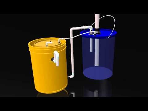 "Animation of ""The Solar CITIES mini Biogas Digester"""