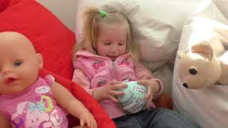 Funny baby беби бон и Алина ищут клад - куколку L.O.L. Surprise - Новая LOL BABY DOLLS