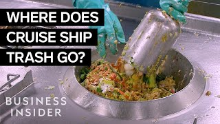 How Waste Is Dealt With On The World's Largest Cruise Ship
